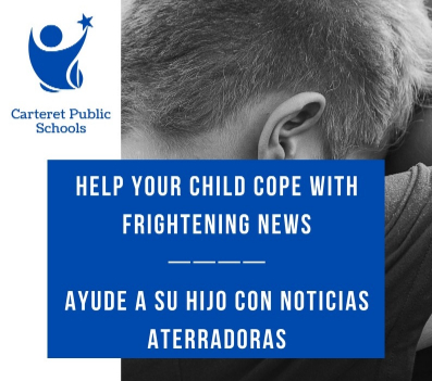 Help your child cope with frightening news